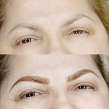 Powder brows by Manell