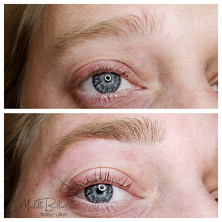 Brow tint, Wax and Lash Lift