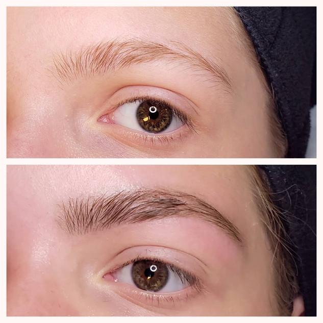 Brow Tint & Eyebrow Wax