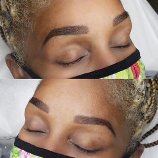 Combo brow ( microblading and powder)