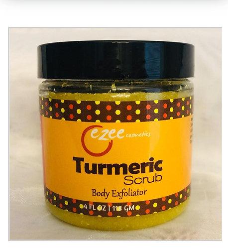 Tumeric scrub