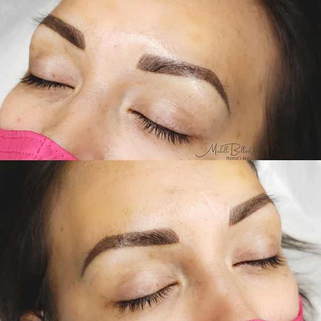 Combo brow 18month touchup