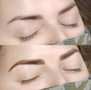 Combo brow (over previous Combo brow done by another artist )