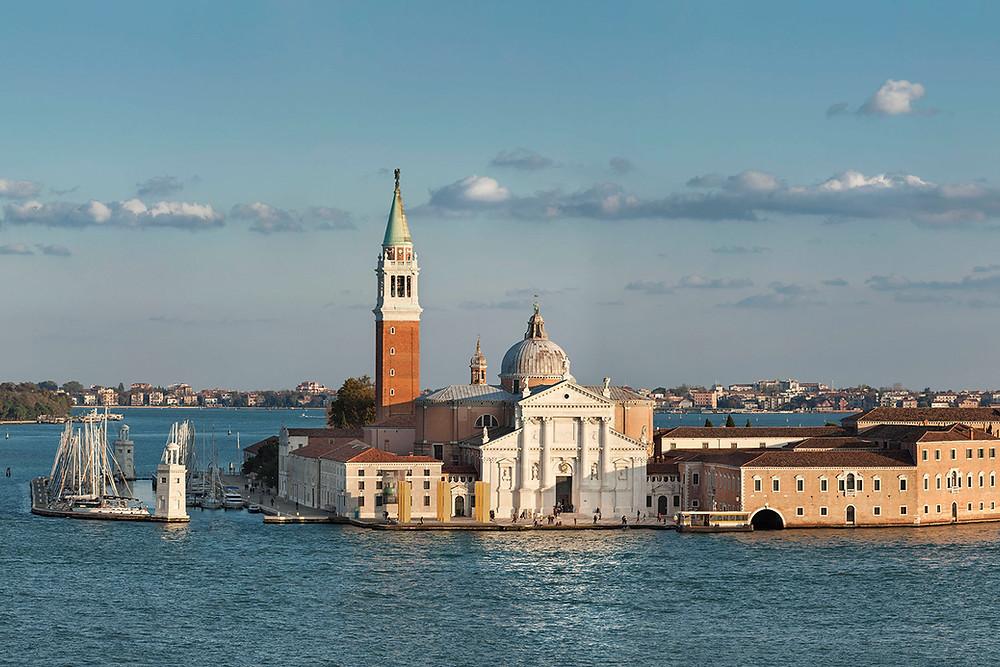 Island of San Giorgio Maggiore home to the Fondazione Giorgio Cini, Venice, Italy. © Fondazione Giorgio Cini