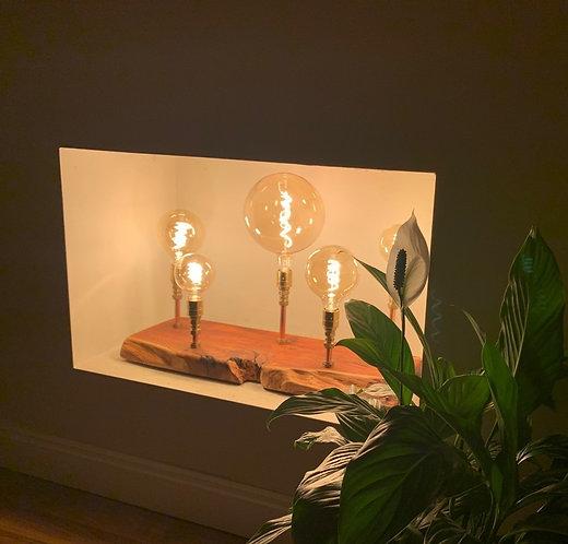 The Mayo - Bespoke Table Lamp  in Irish Yew