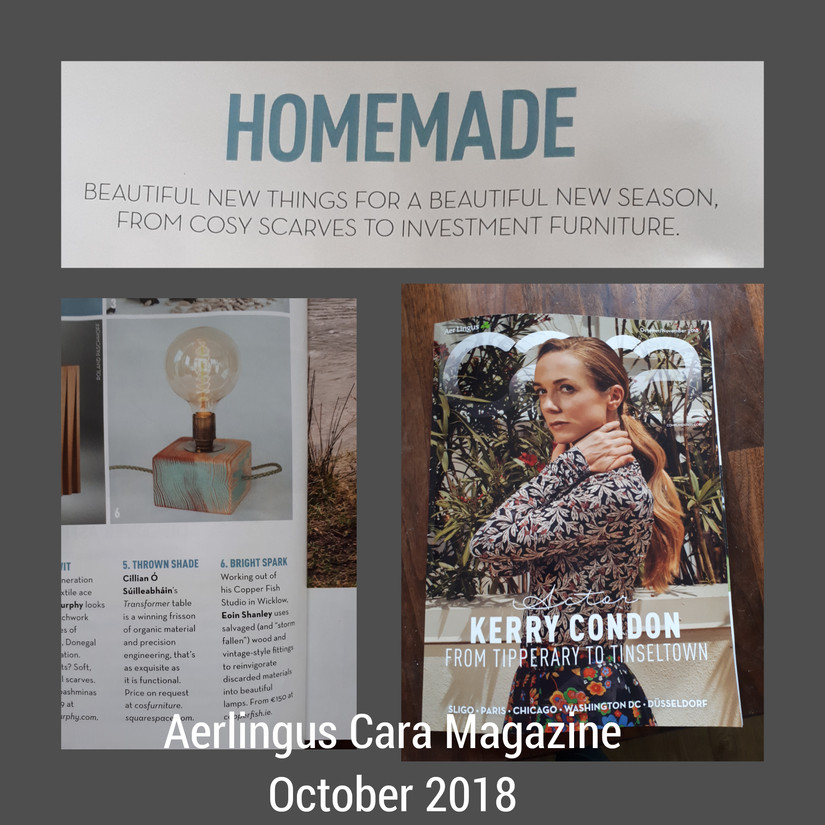 Aerlingus Car Magazine, Oct 2018