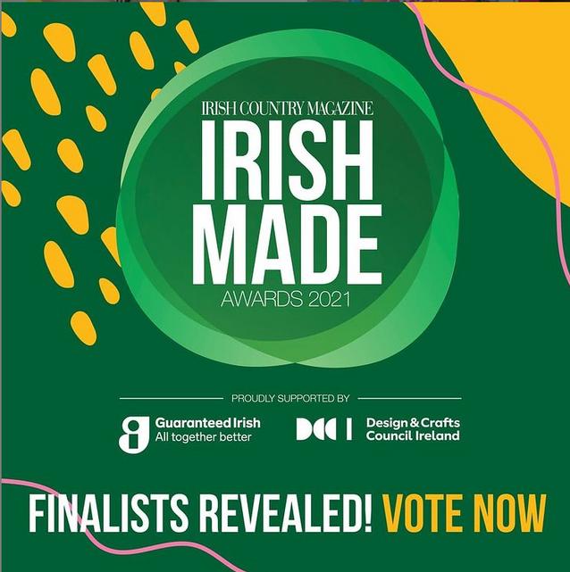 Finalist - Irish Made Awards 2021