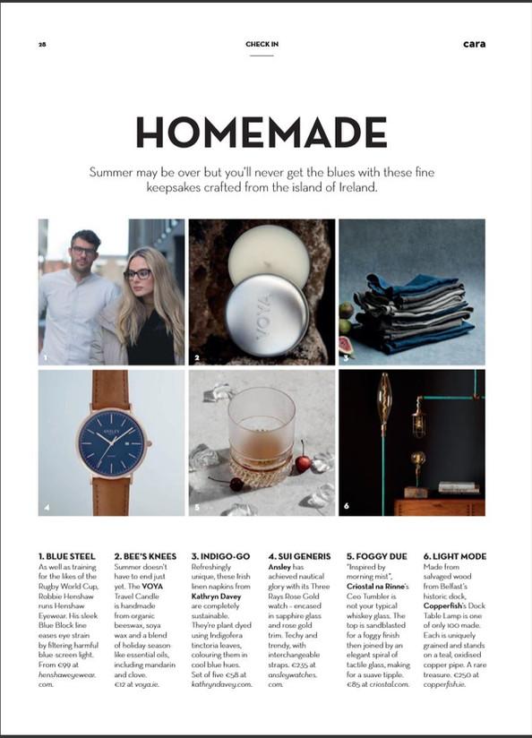Aerlingus Cara Magazine, Sep 2019