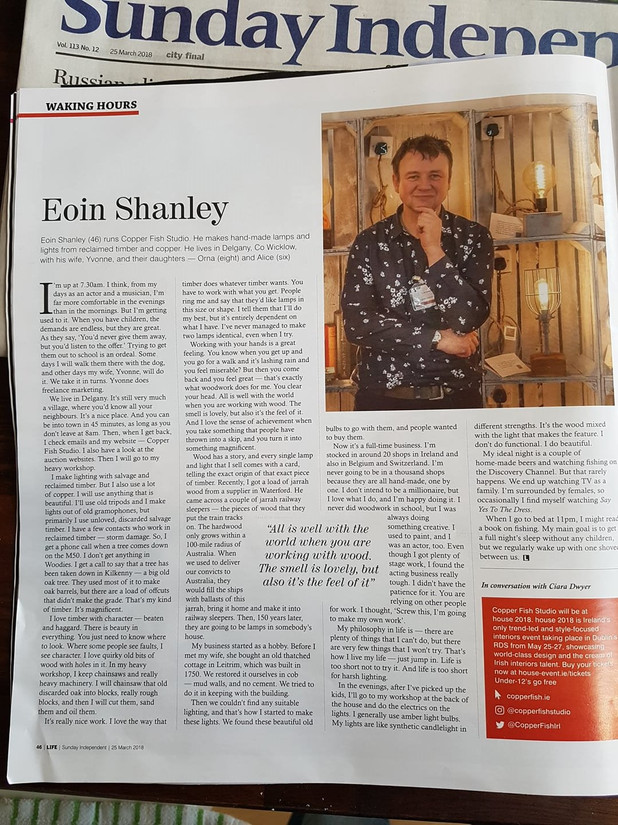 Sunday Independent, March 2018