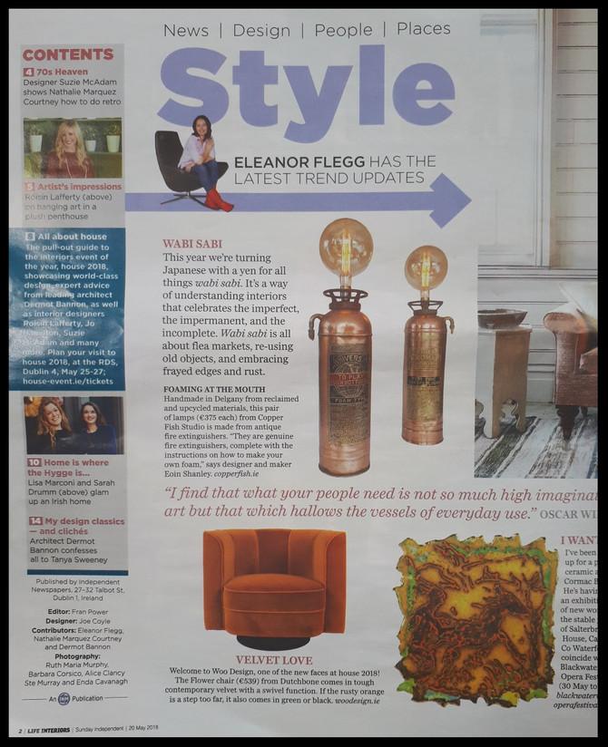 Life Magazine, Sunday Independent, May 2018