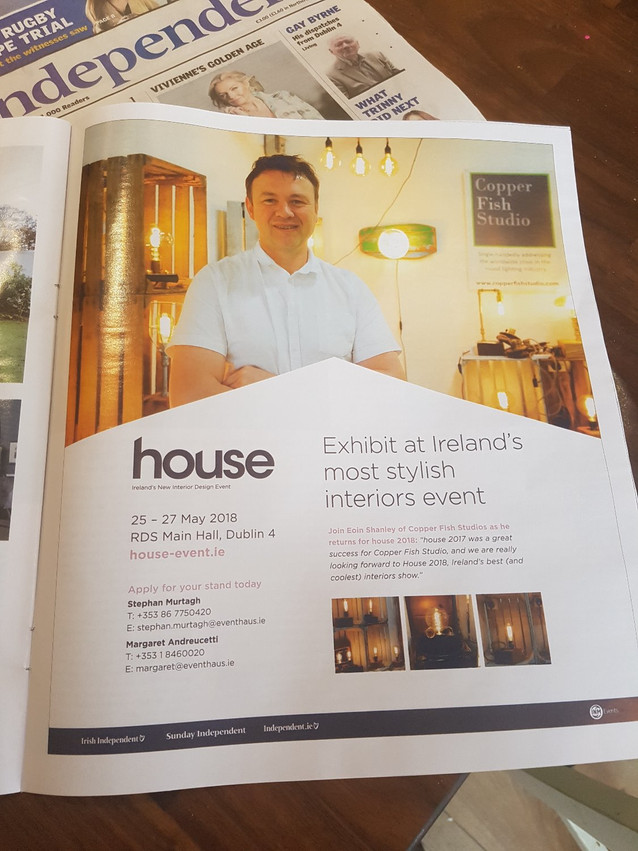 We're heading to House 2018 in the RDS