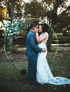Ring arch wedding rental Dallas