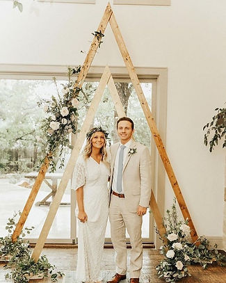 triangle arch wedding rental dallas texas