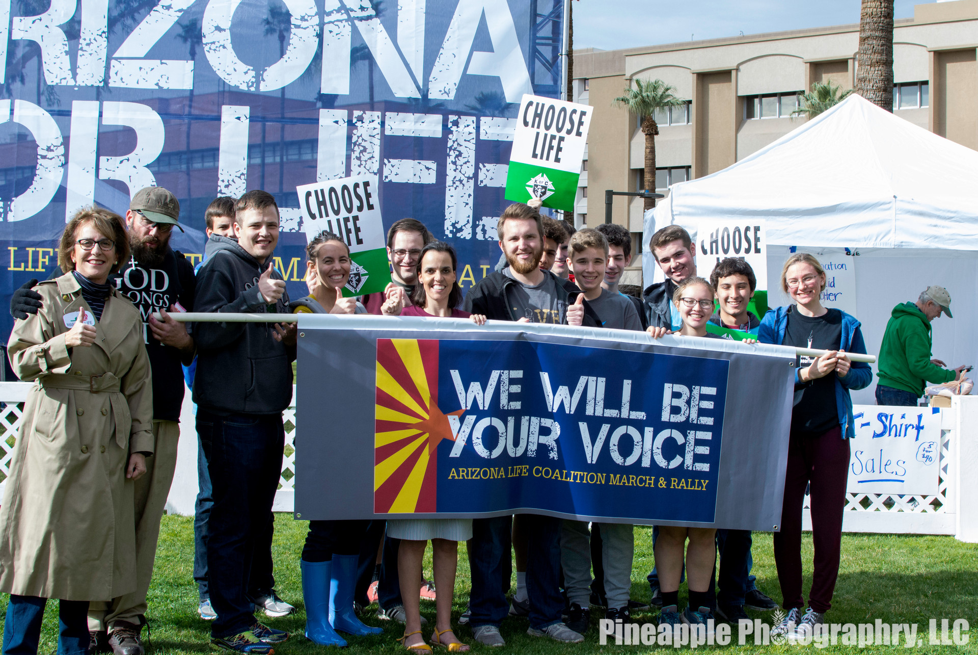 Arizona Right to Life Rally