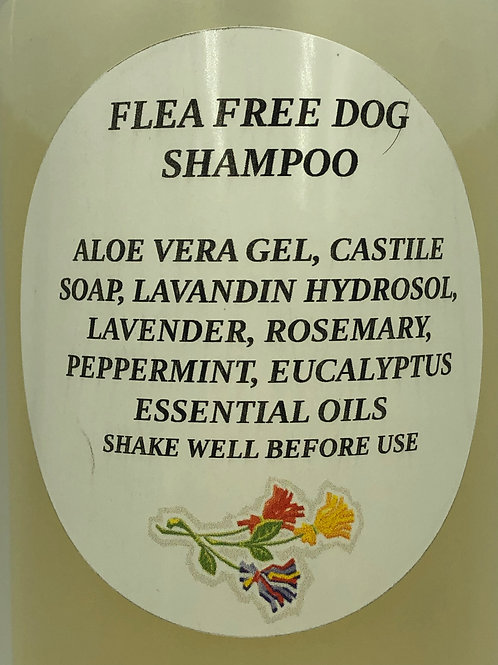 Organic Flea Free Dog Shampoo