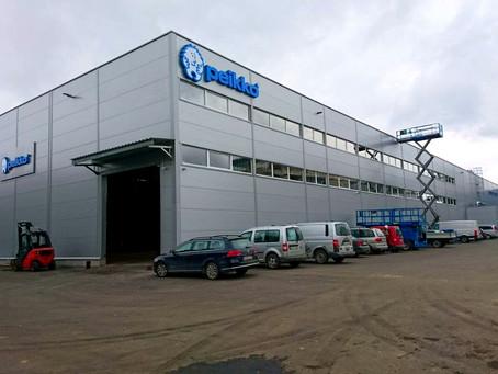 Демонтаж на производстве Peikko
