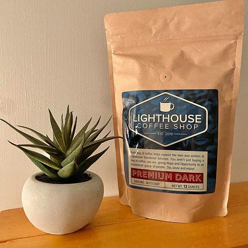 Premium Dark Roast Ground Coffee