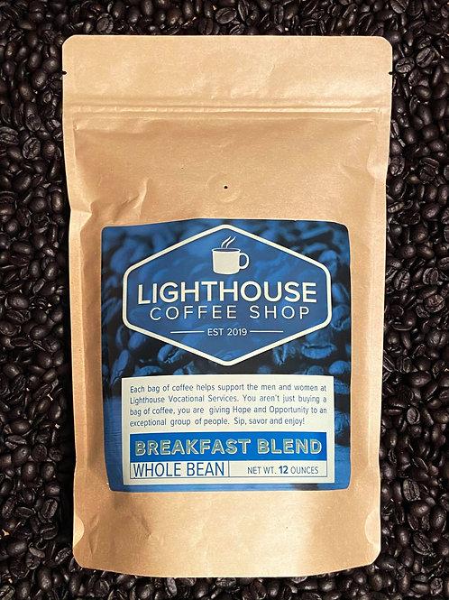 Whole Bean Breakfast Blend