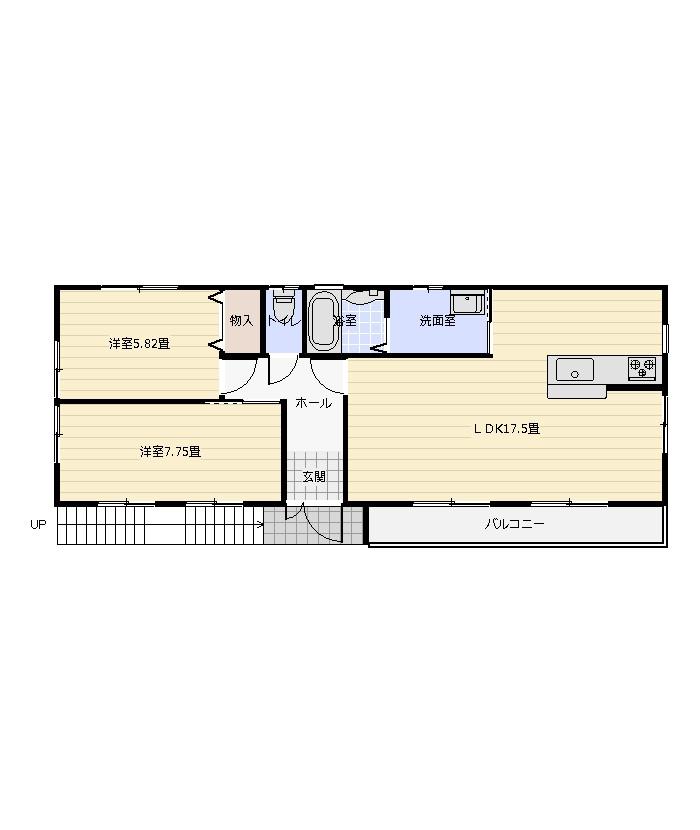 間取り_浅江5丁目和田借家.