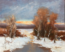 Hopkins, Laura-Winter Day's End
