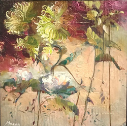 Morga, Maria-Flowers with Texture