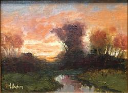 Hopkins, Laura-Landscape Study 27
