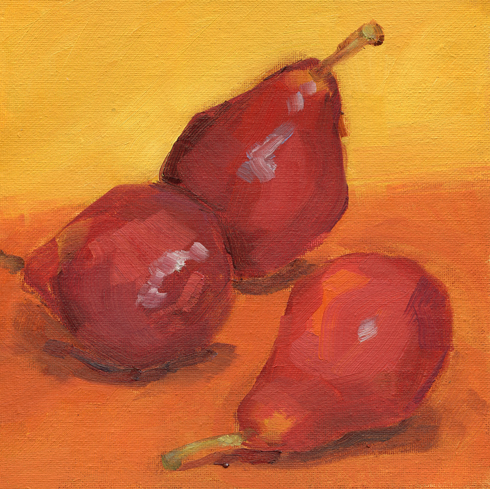 Richards Kim_Red Pears_oil