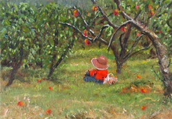 Resting In The Orchard