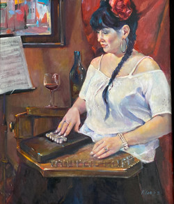 Red and the Auto-Harp Pla