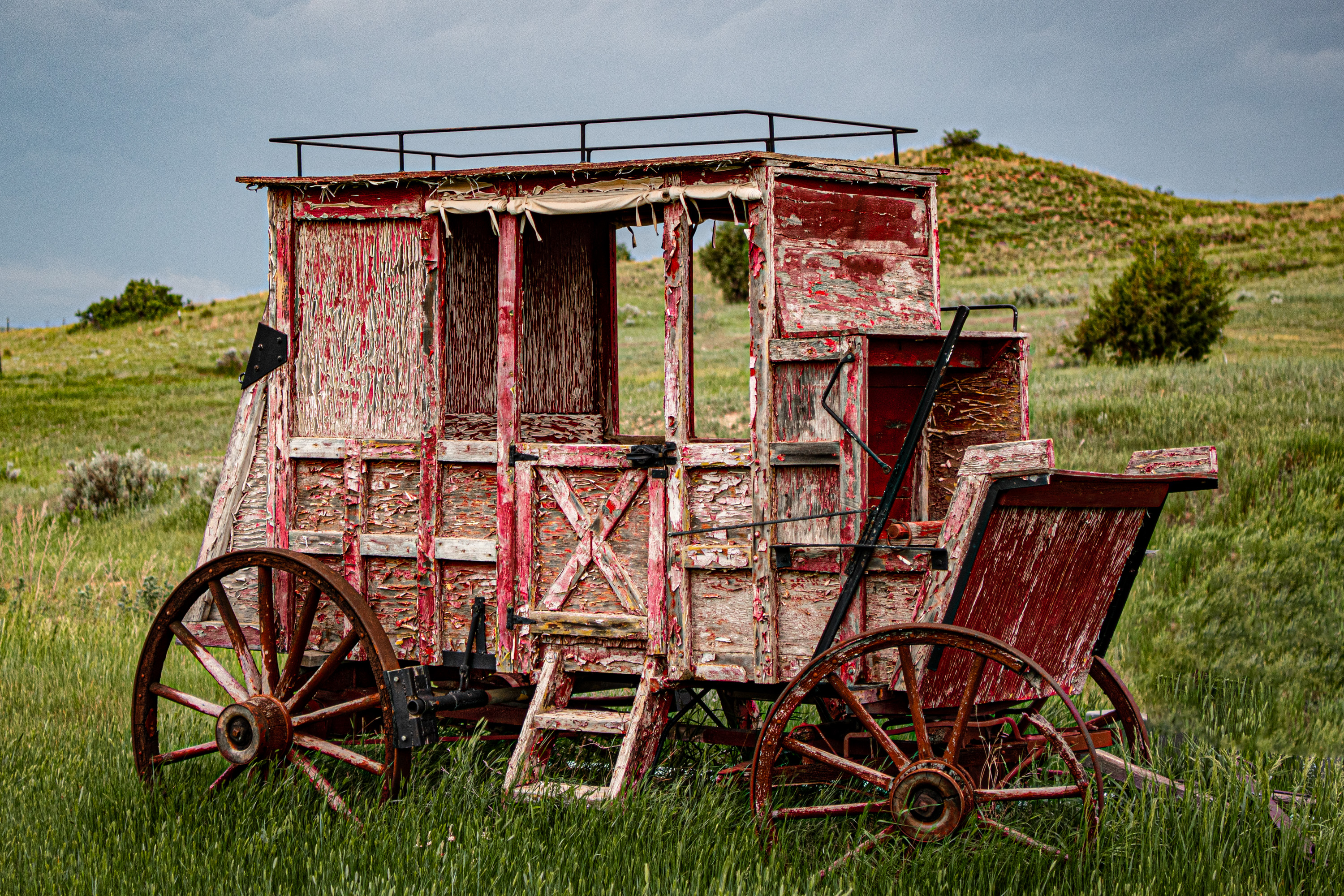 Last Stagecoach to Medora