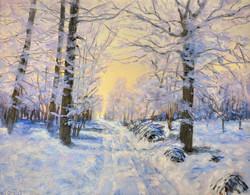 Moffat_Sarita_Violet Snow_Oil_11x14