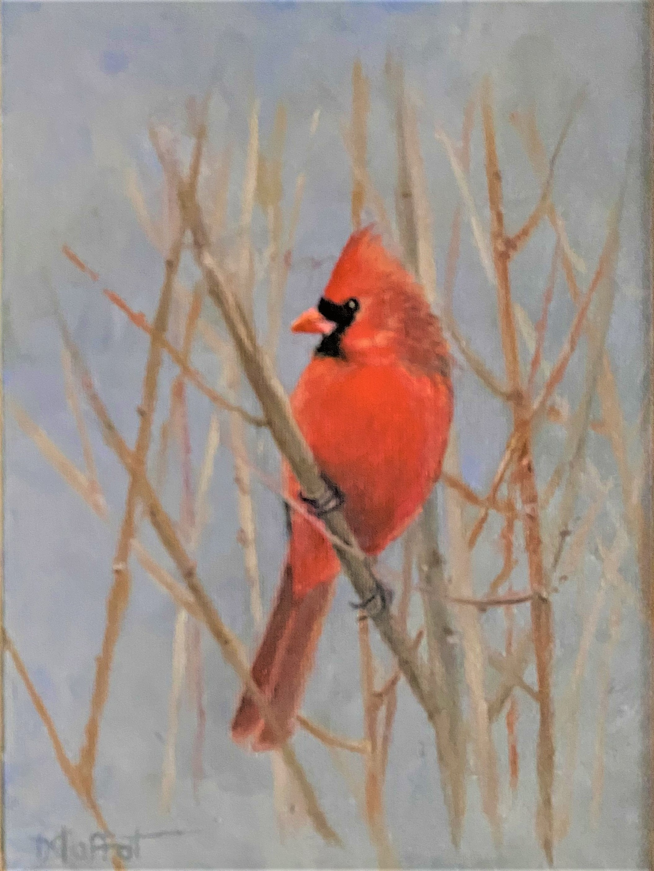 Moffat_Sarita_Mr Cardinal 2_Oil_6x8