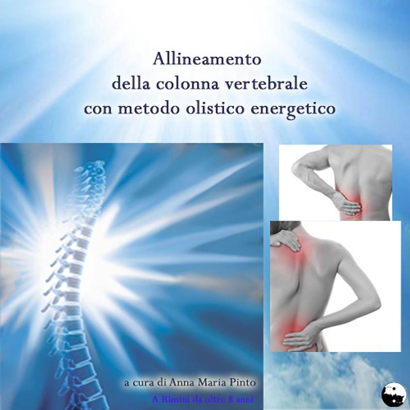 14-15/10/2021 Allineamento della colonna vertebrale a cura di Anna Maria Pinto