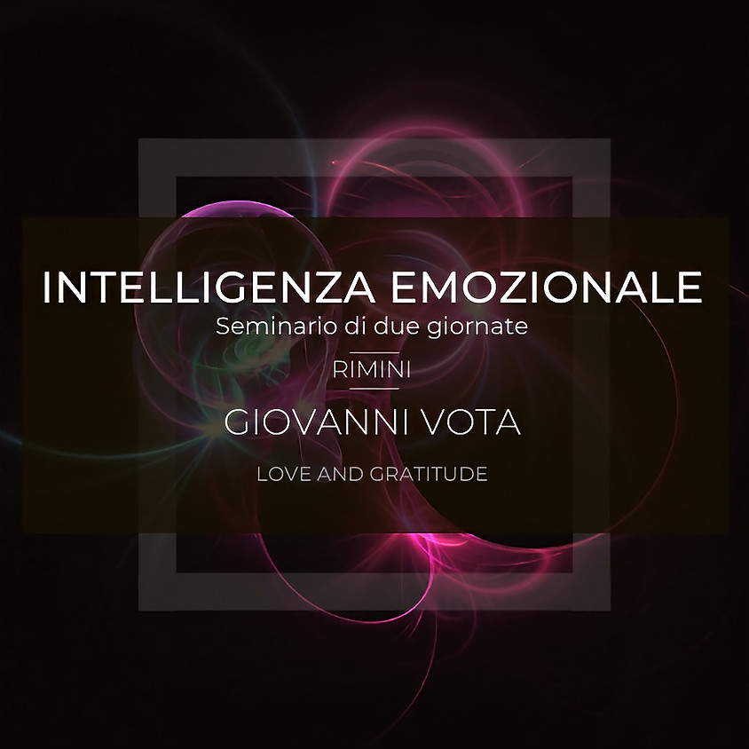 Intelligenza Emozionale seminario + test