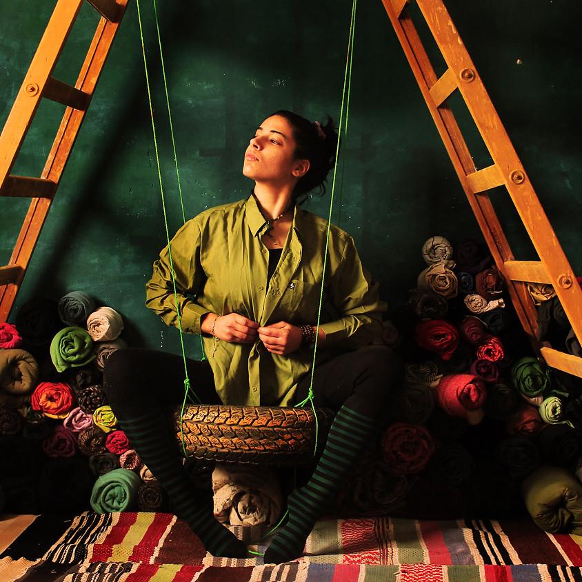 Nidaa Badwan artista internazionale ospite al Club!