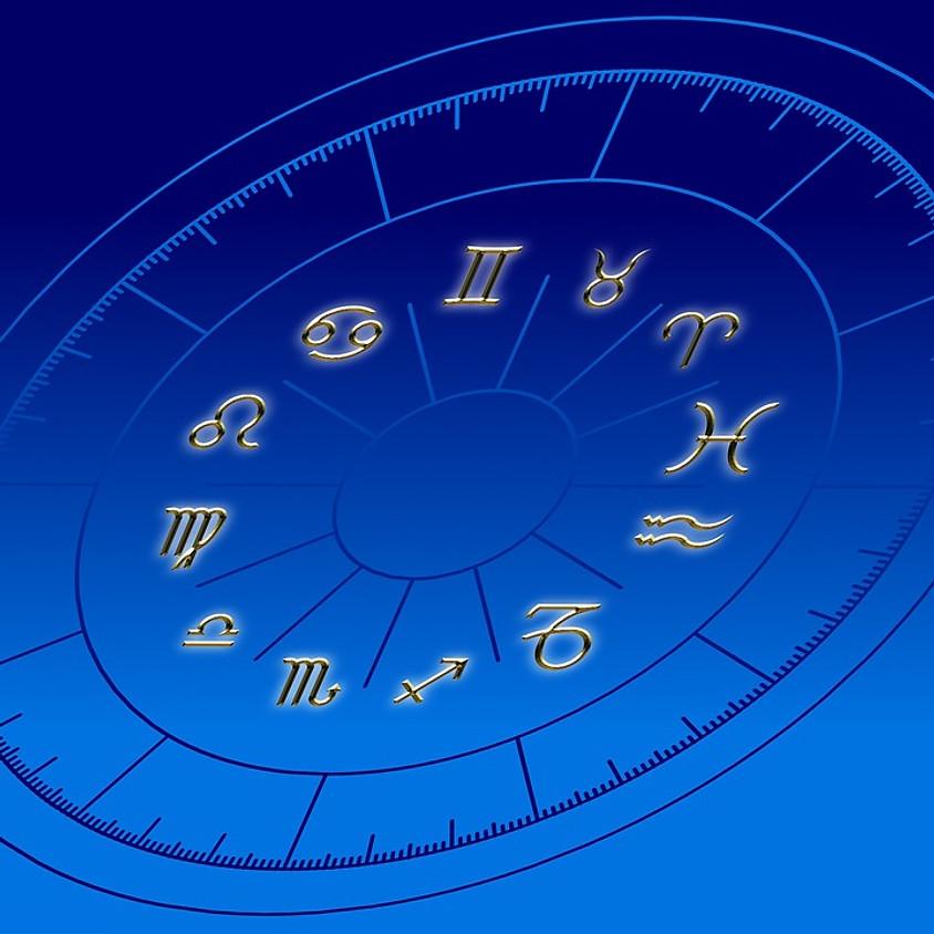 Conferenza gratuita di Astrologia e breve lettura dei temi di nascita dei partecipanti ad estrazione