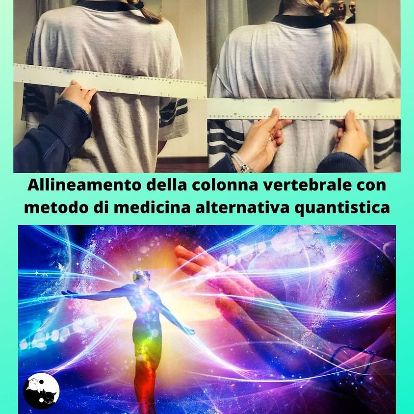 12-13/6/2021 Allineamento della colonna vertebrale a cura di Anna Maria Pinto