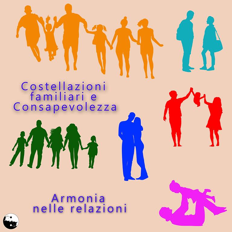 17/10-2021 Gruppo di Costellazioni familiari e Consapevolezza a cura di Monica Colosimo