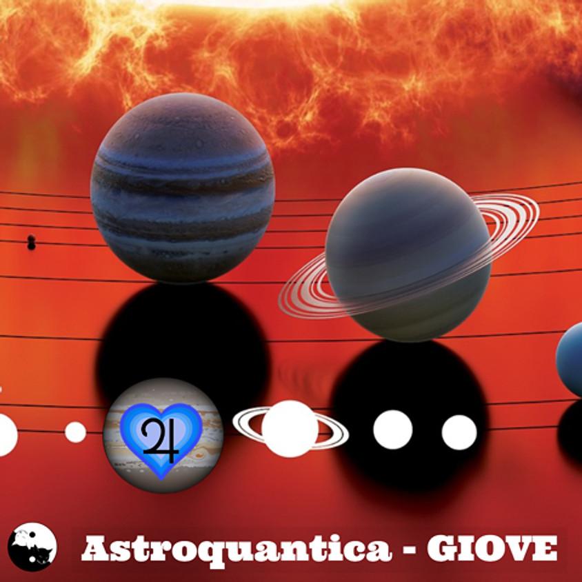 Astroquantica: l'incontro con Giove. A cura di Rosanna Bianchini astrologa da oltre 35 anni