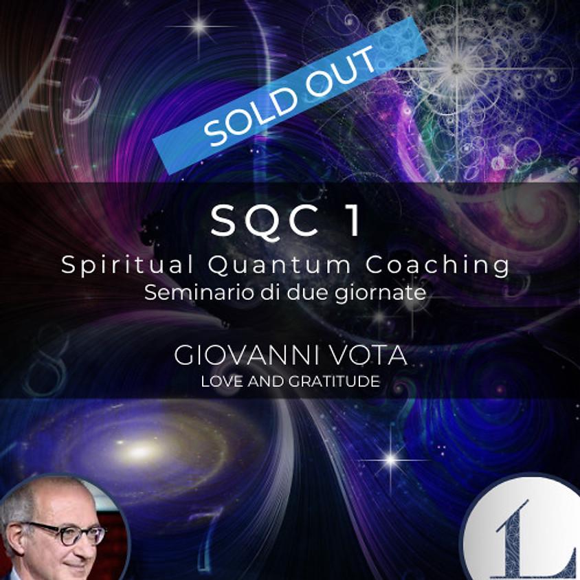 19-20/06/2021 SQC 1 - Spiritual Quantum Coaching corso di tecniche quantistiche a cura dell'Ing. Giovanni Vota
