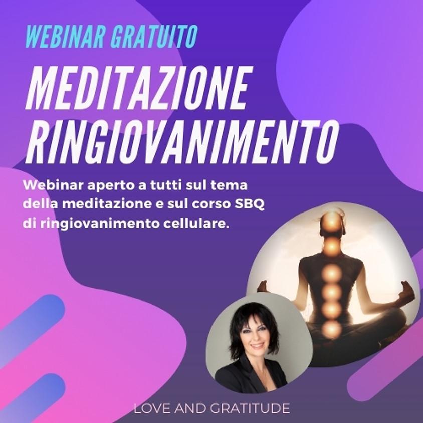28/4-2021 Webinar SQB - Spiritual Quantum Body: meditazione, ricalibrazione e ringiovanimento. A cura di Barbara Goia