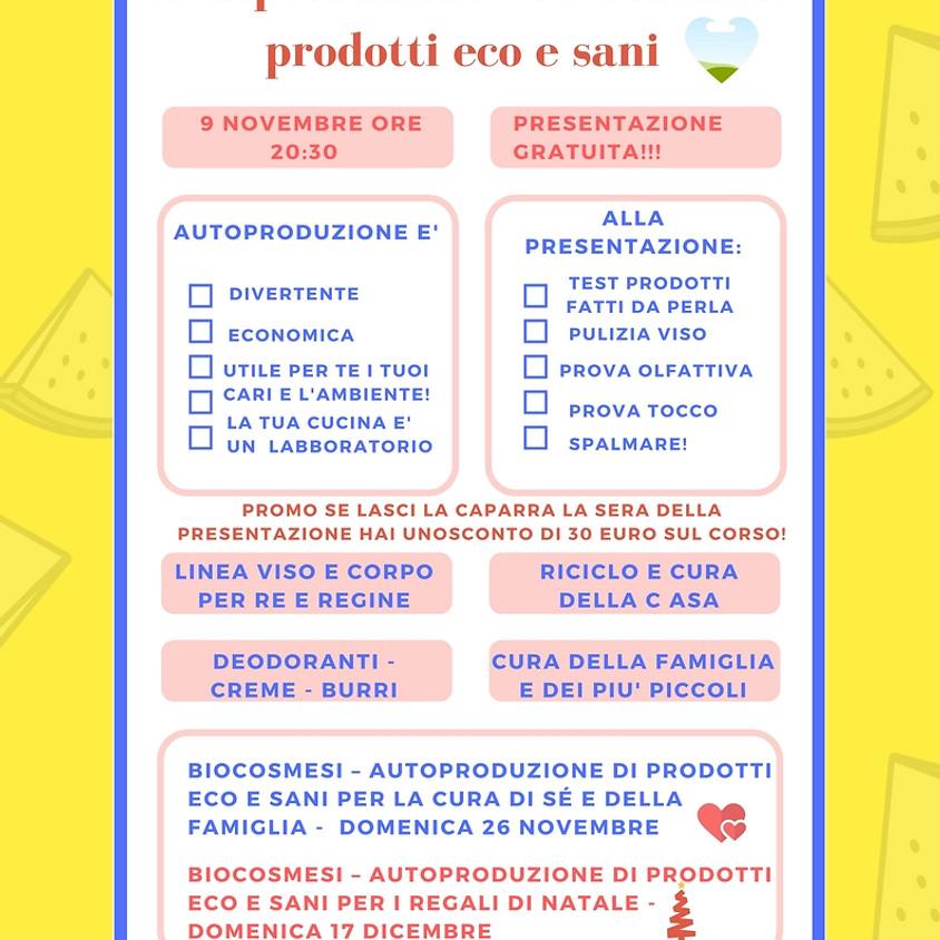 Autoproduzione prodotti eco e sani per sé e la famiglia