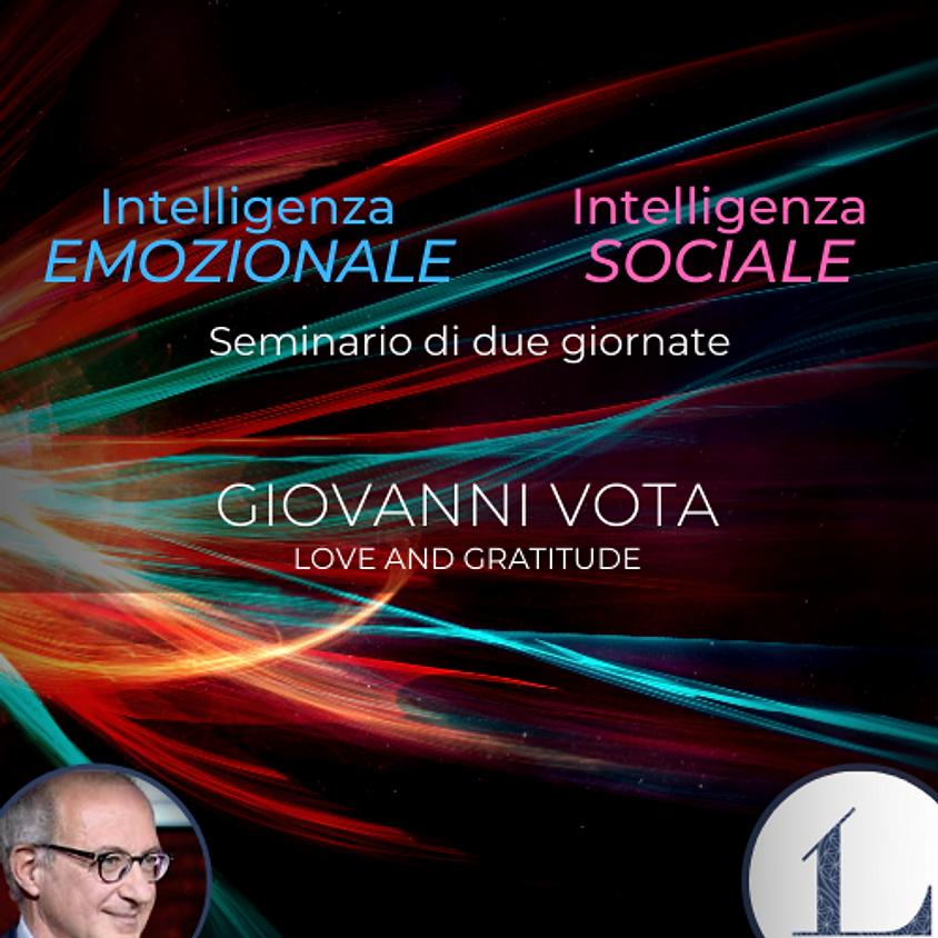 27-28/2-2021 Intelligenza Emozionale seminario + 2 test (I.E e I.S) a cura dell'Ing. Giovanni Vota