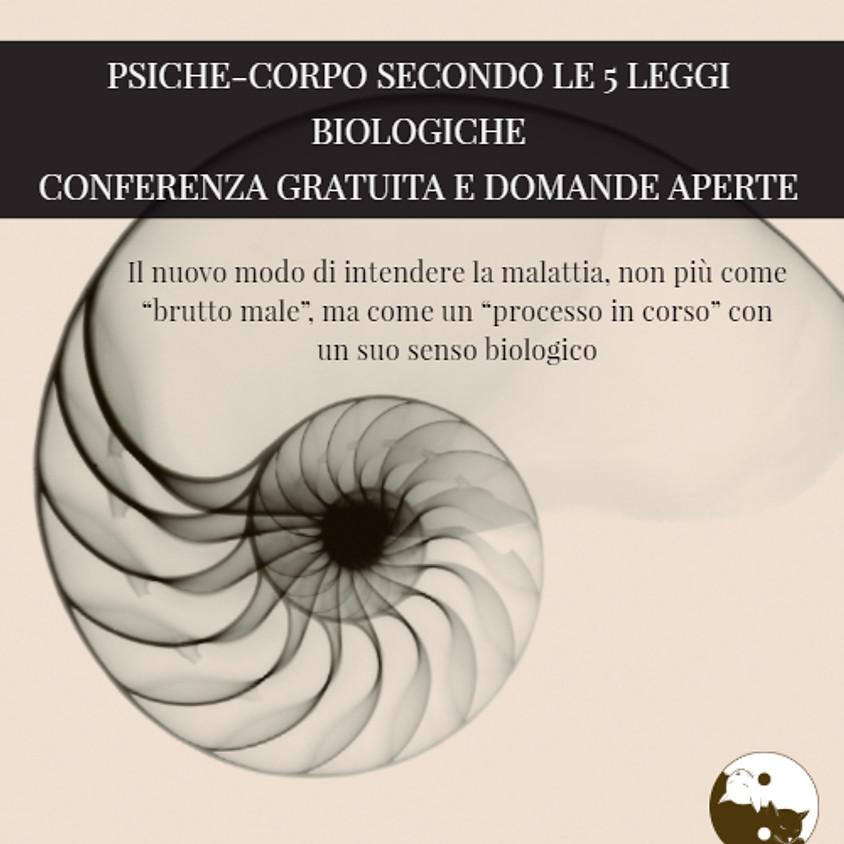 Psiche- corpo secondo le 5 leggi biologiche conferenza gratuita a cura di Federico Franco Dottore in psicologia clinica