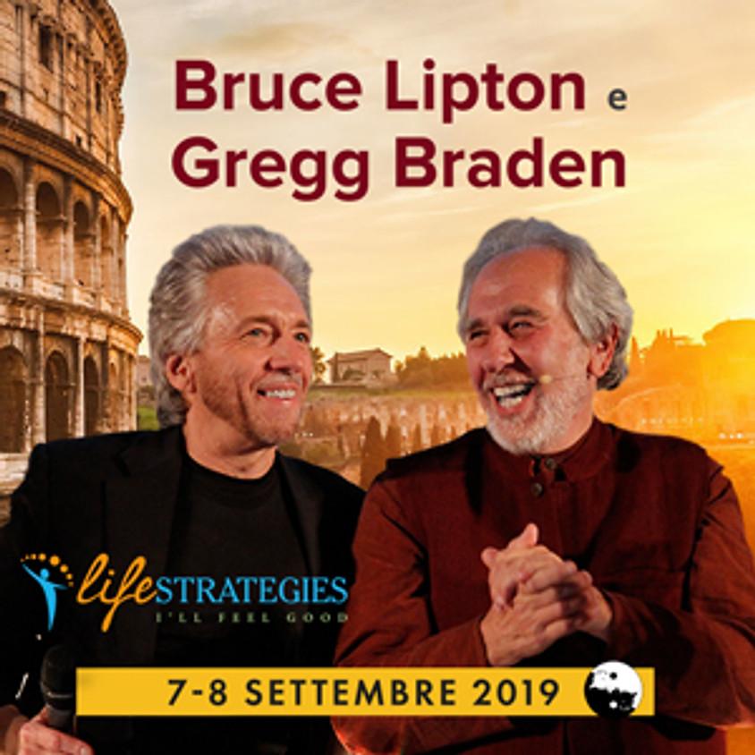 Gregg Braden & Bruce Lipton insieme per un seminario dedicato alla Relazione tra Spiritualità e Scienza