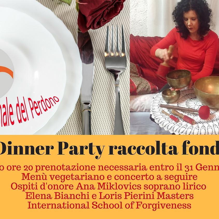 Dinner party raccolta fondi Giornata Internazionale del Per-Dono