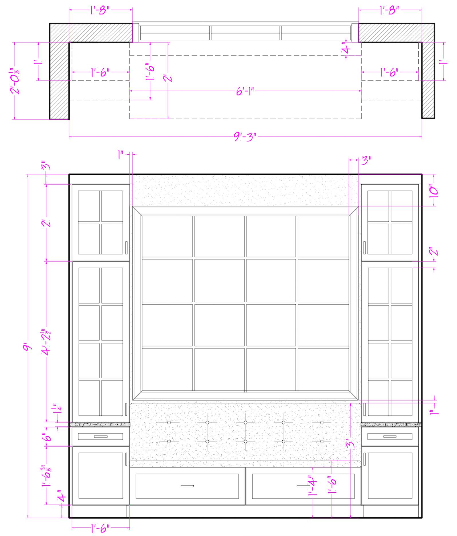 2D of Window Design