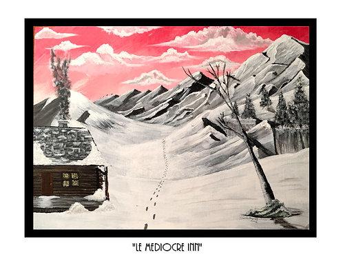 """Le Mediocre Inn"" - Art Print"