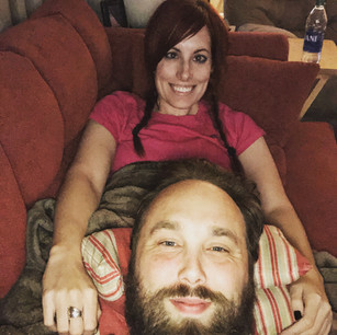 Resting with my love!
