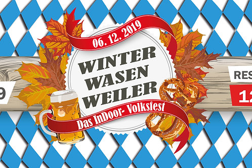 Winter Wasen Weiler - Stehplatz-Tickets
